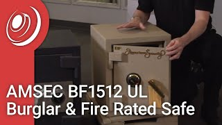 AMSEC BF1512 UL Burglar & Fire Rated Safe with Dye the Safe Guy