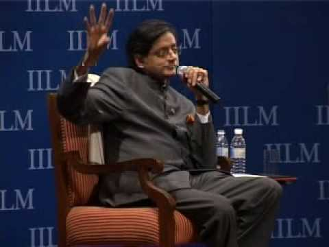 IILM Global Thinker Award 2010 to Dr. Shashi Tharoor, March 5,2010