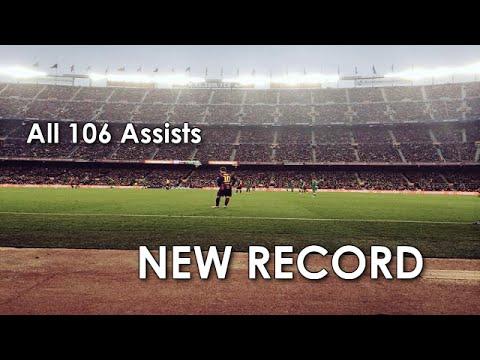 Lionel Messi ● All 106 Assists in La Liga ● NEW RECORD