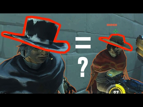 Влияют ли скины на размер Хитбокса персонажа? [OverWatch]