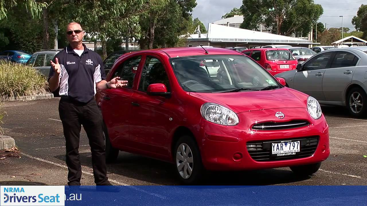 2011 nissan micra st drivers seat car review nrma youtube. Black Bedroom Furniture Sets. Home Design Ideas