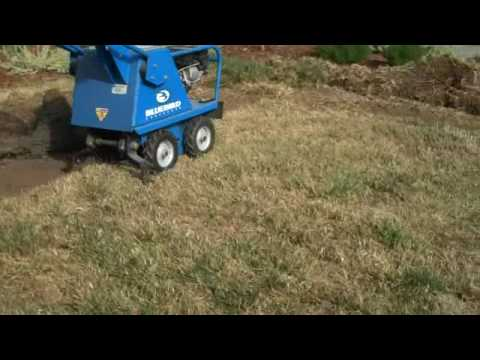 How-to use a sod cutter
