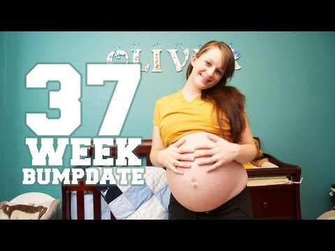 37 WEEK BUMPDATE - Headaches, NST, Hospital Tour - Pregnant After Stillbirth