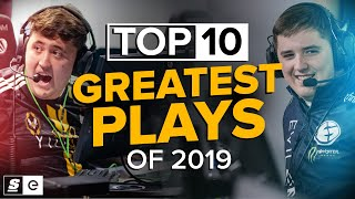 The Top 10 Esports Plays of 2019