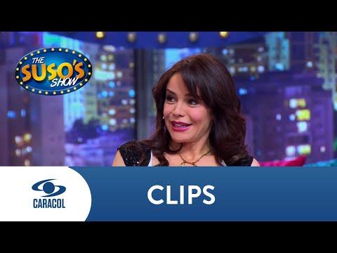 ¡Muy romántico! Suso le saca lágrimas a Flora Martínez con un lindo poema | Caracol Televisión