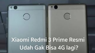 Xiaomi Redmi 3 Prime Resmi Gak Bisa 4G di MIUI 8.1.3?