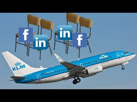 KLM Meet &amp; Seat - passengers choose seatmate via social media