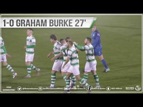 Shamrock Rovers 6-0 Bray Wanderers February 26th 2018