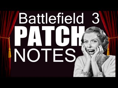 BF - Choppers NURFED? Battlefield 3 Patch Notes.