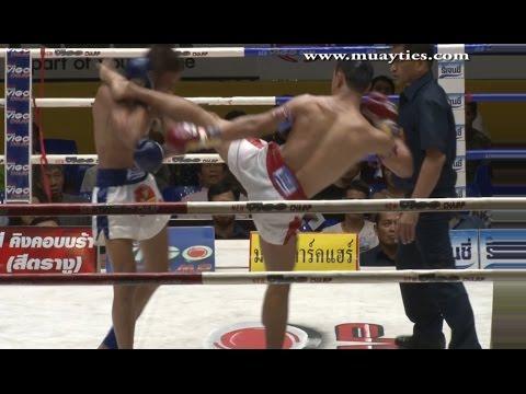 Muay Thai Fight – Sam – A vs Bangpleenoi – New Lumpini Stadium, Bangkok, 25th November 2014