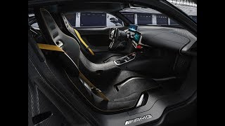 Mercedes AMG Project One Interior, Startup and Test Drive IAA 2017