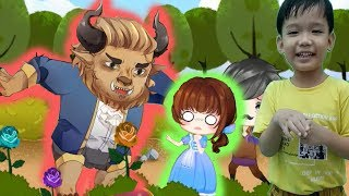 Bé kể chuyện cổ tích NGƯỜI ĐẸP VÀ QUÁI VẬT hoạt hình vui nhộn Kênh trẻ em - video cho bé yêu