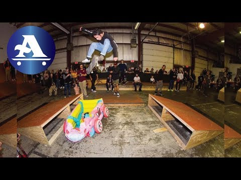 The Hive skate park GRAND OPENING!!