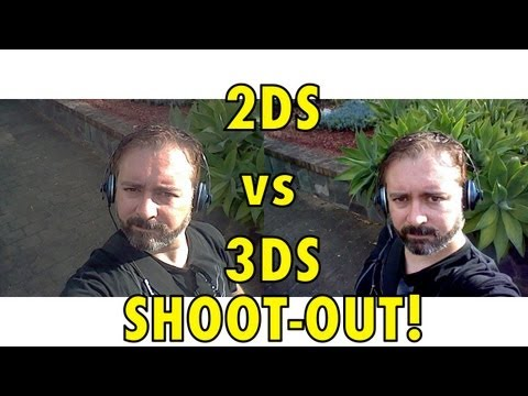 Nintendo 2DS vs 3DS - SHOOTOUT