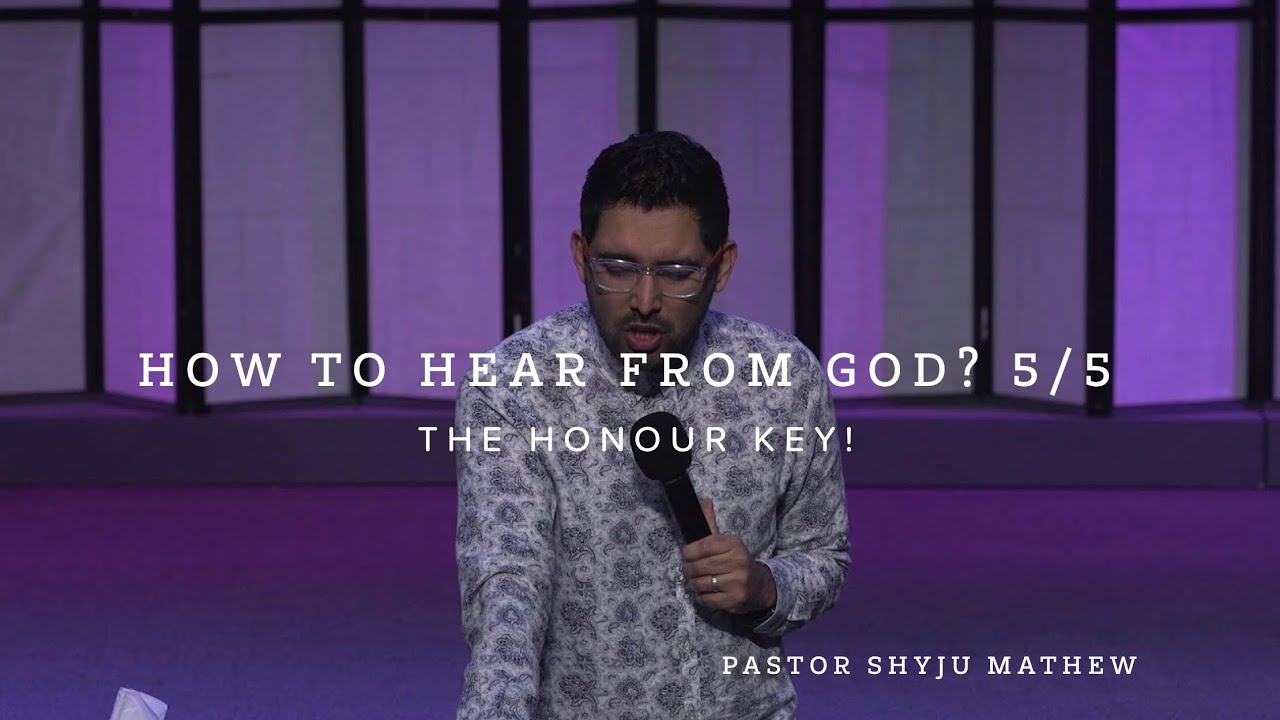 How to Hear From God. 5/5 The Honour Key!