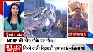 Greater Noida Building Collapse: Rescue operation underway
