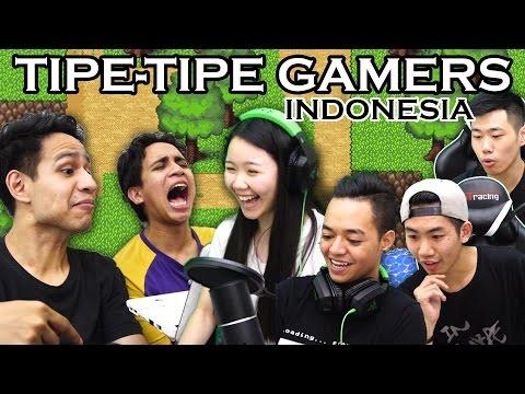 TIPE TIPE GAMERS INDONESIA #1