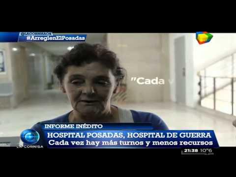 El Posadas, un hospital en ruinas
