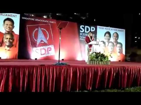 Dr Chee on alternative vision for Singapore