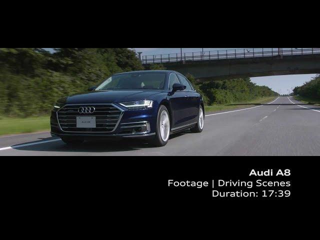 Audi A8 Footage_Driving Senses