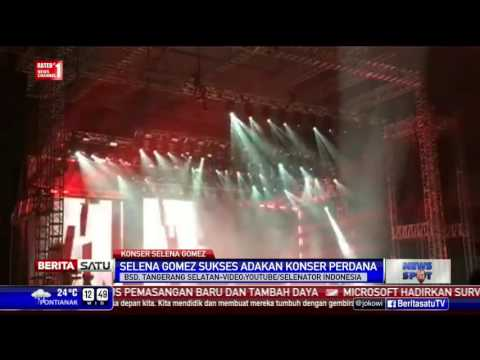 Konser Revival Tour Selena Gomez di Indonesia