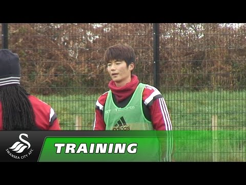 Swans TV - Training ahead of Crystal Palace.