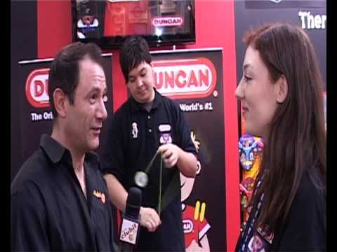 Clubit TV at London Toy Fair 2010 - Duncan MG review