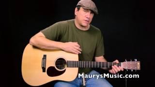 The Martin DX1AE at MaurysMusic.com
