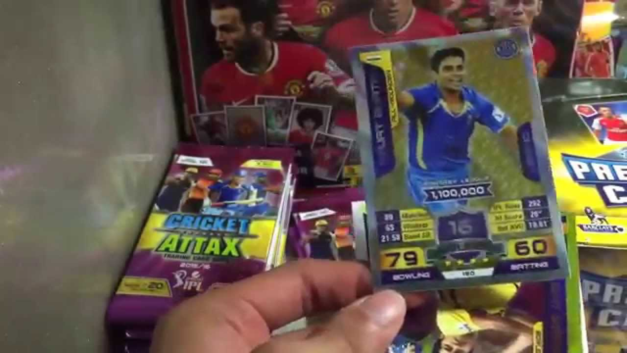 Cricket Attax Cards Gold Cricket Attax Trading Card