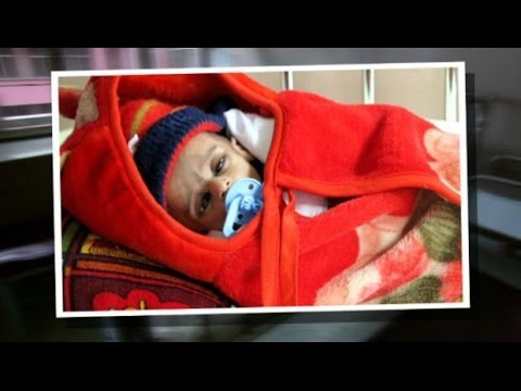 A heartbreaking tour of a children's hospital in Afghanistan