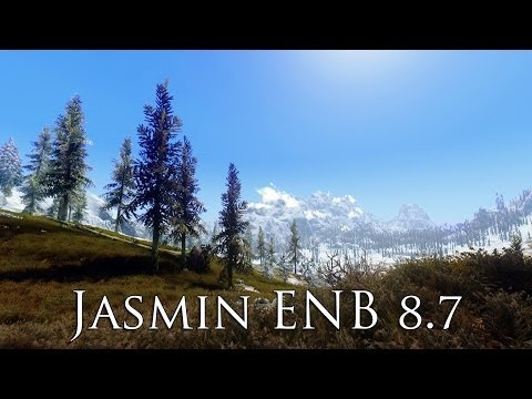 TES V - Skyrim Mods: Jasmin ENB real Graphic Mod 8.7