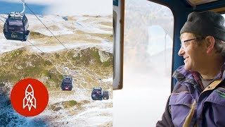 Exploring the Swiss Alps by Cable Car