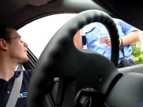 ГАИшник обозвал водителя матом