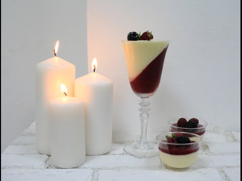 Кокосовый мусс / Муссовый десерт в стакане / Mousse Coconut Dessert in a Glass