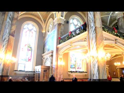 Tour of the Basilica of St. Josaphat in Milwaukee