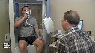 Iraq and Afghan war vets exposed to toxic air struggle for breath -- and a diagnosis