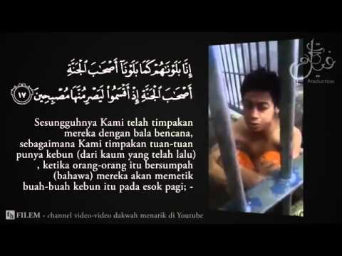 Child In Jail Reciting Quran With Beautiful Voice video