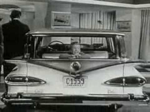 Old Car Dealership >> 1959 Chevrolet Brookwood Station Wagon Classic TV Commercial - YouTube
