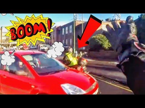STUPID, CRAZY & ANGRY PEOPLE VS BIKERS - ROAD RAGE!