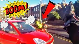 STUPID, CRAZY & ANGRY PEOPLE VS BIKERS - ROAD RAGE!
