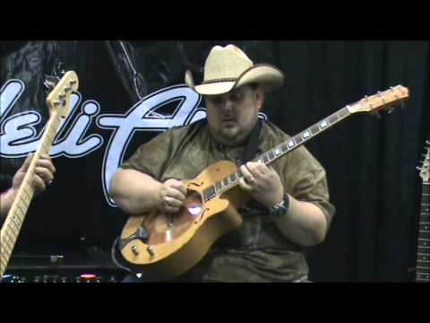 Johnny Hiland on the HeliArc Arc Light Guitar