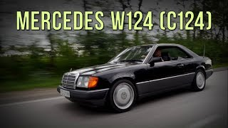 Mercedes W124 Coupe (С124) - спустя 26 лет. #SRT
