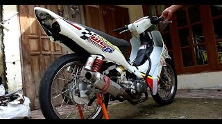 Tes Suara Motor Road Race MP4 Jupiter 5TP Bikinan Arif Budhi Kebumen [Wisnu Spring Racing Team]