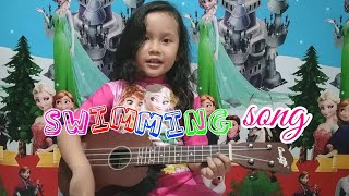 Swimming Song Little Baby Bum - Ukulele Cover