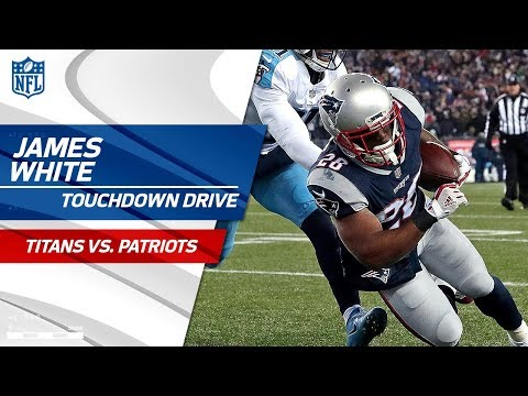 New England Extends Lead with James White's 2nd TD! | Titans vs. Patriots | NFL Divisional Round HLs