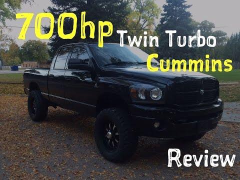 700Hp TWIN TURBO 6.7 Cummins Review!