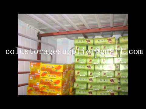FRP Small Sea food cold storage /vegetable/fruit /meat  cold storage /Medicine cold storage supplier