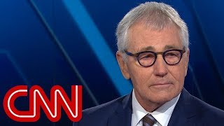 Chuck Hagel on Trump skipping veterans event: Embarrassment