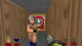 Brutal Doom v21 Addon:Wolf 3D E1M1(With Brutal Wolfenstein guards)