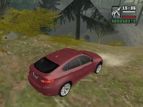 GTA: San Andreas- BMW X6 M Car Mod